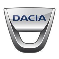 Le logo de la marque Dacia automobile
